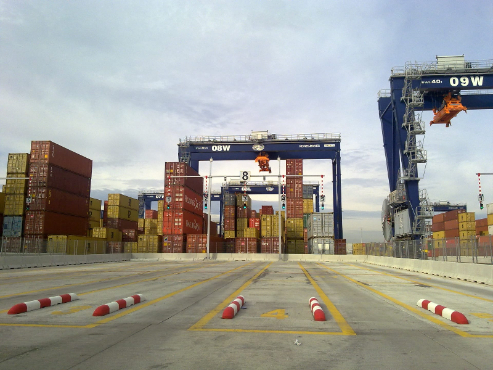 Terminal de Containers